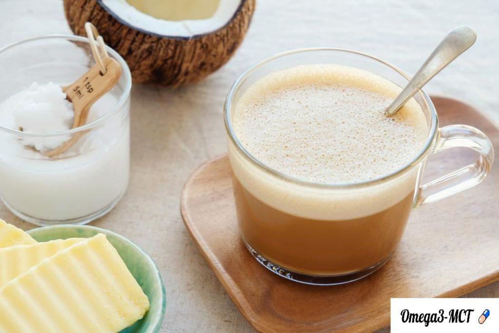 Kugelsicherer Kaffee mit Kokosöl, MCT & Butter